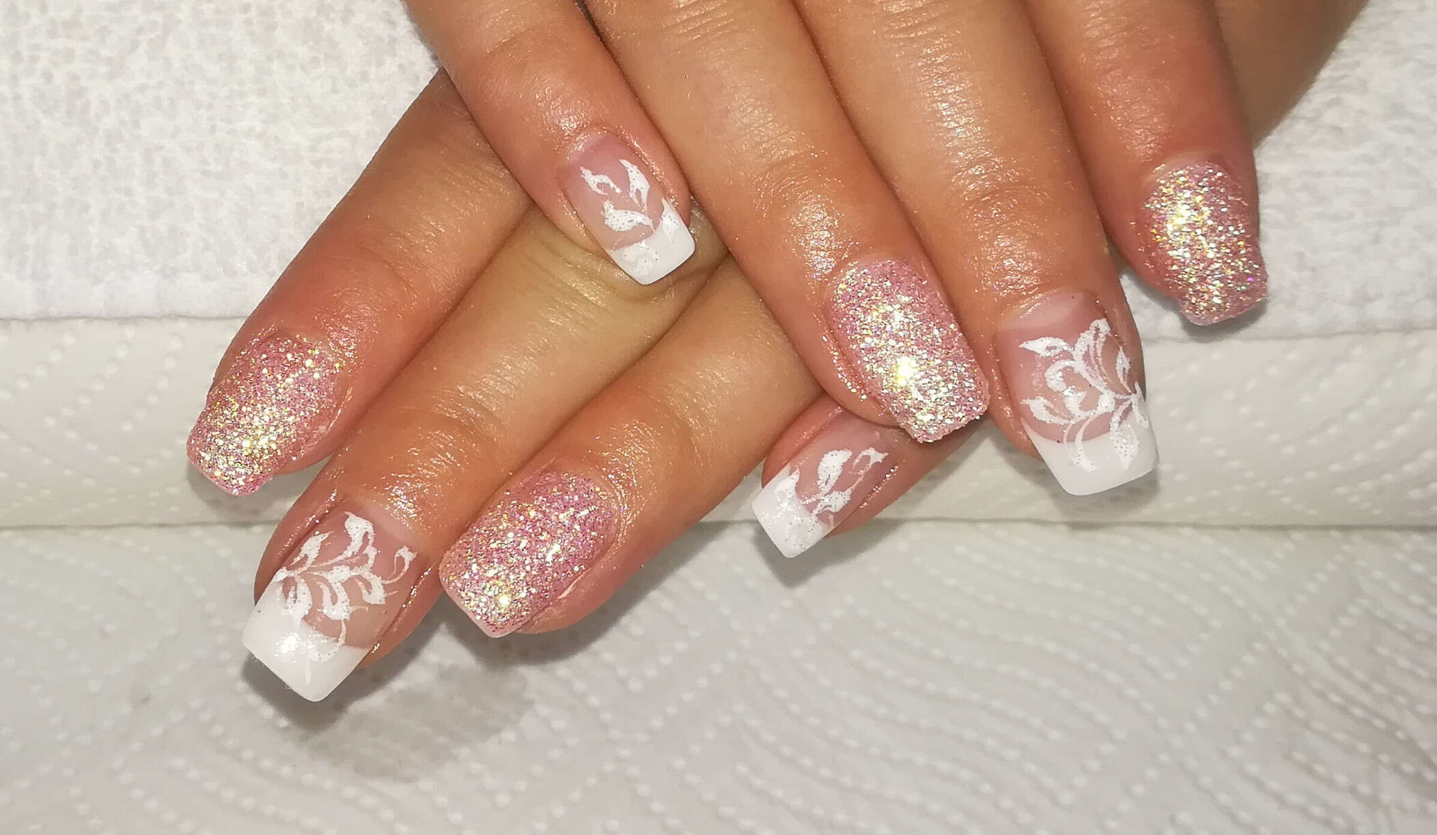 individuelle French-Nails von Melinda's Nails